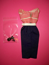 Vintage Barbie Cruise Stripes #918 Excellent! Used The perfect sailing ensemble! - $59.99
