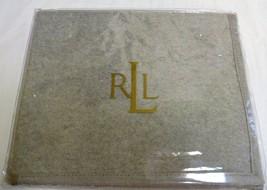 Ralph Lauren Suite Heather Grey Wool King Pillow Sham - $49.14