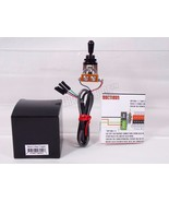 Black 3 Way Toggle Switch pre-wired for EMG pickups Solderless Shielded  - $24.74