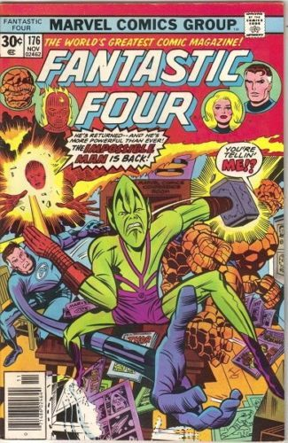 Primary image for The Fantastic Four Comic Book #176 Marvel Comics 1976 FINE