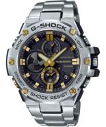 Casio Men's G-Steel by G-Shock Quartz Solar Bluetooth Connected Watch  - $399.95
