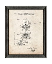 Aircraft Of The Direct Lift Amphiblan Patent Print Old Look with Black W... - $24.95+