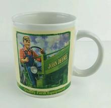 John Deere Tractor Company Brand  Coffee Mug  2005 Collector Series #31451 Farm - $7.91