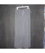 NEW w/ TAGS Sheer Black Pants by Nikki ITALY 28 x 28 - $22.24