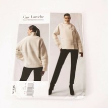 Vogue Pattern V1335 Size 6 8 10 12 14 Jacket Pants Guy Laroche Paris Ori... - $16.88