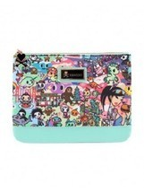 Tokidoki California Dreamin' Cali Lifestyle Adult Womens Makeup Case Zip... - €31,21 EUR