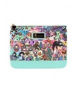 Tokidoki California Dreamin' Cali Lifestyle Adult Womens Makeup Case Zip... - £28.20 GBP