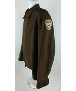 Pony Express Courier Corps Baker Industries Vintage Large Work Jacket Pa... - $39.59