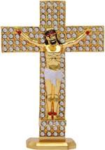 New Golden Jesus Isu Christianity Statue Home Decor Gifting Decorative S... - $23.99