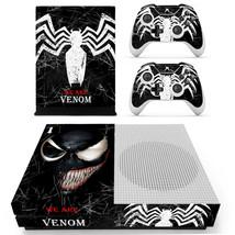 Xbox one S Slim Console Skin Vinyl Decals Stickers Venom Spiderman Marvel Comic - $12.40
