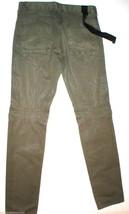 New Designer Mens Hudson Jeans Dark Green Coated 32 X 33 USA Button Fly ... - $175.05
