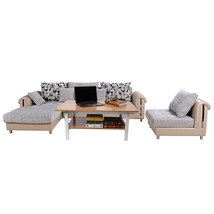Modern Rectangular Glass Coffee Table Wood Living Room Home Furniture 39... - €69,51 EUR
