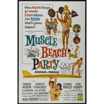 Muscle Beach Party ( Rare 1964 DVD ) * Frankie Avalon * Annette Funicello - $14.99