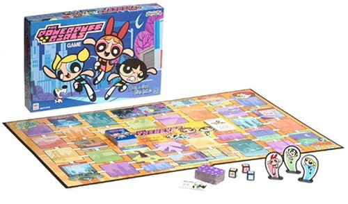 Primary image for Powerpuff Girls Board Game - Saving the World Before Bedtime