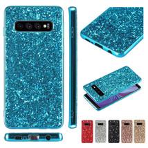 For Samsung S21+ S20FE Note 10+ S10 Plus S10e HARD BACK HARD Silicon Cas... - $55.52