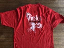 Super Rare VTG 70-80's Winston Cigarettes Eagle Pocket On Short Sleeve T... - $25.64