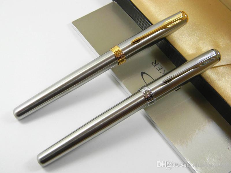Parker Sonnet Stainless Steel Medium M Nib Fountain Pen