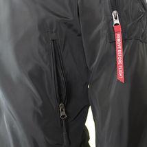Maximos Men's Lightweight Water Resistant Reversible Flight Bomber Jacket MIKE image 15