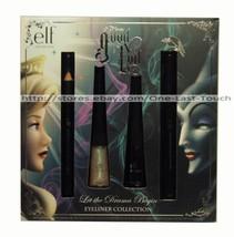 ELF DISNEY GOOD VS EVIL* 4pc Eyeliner Collection LET THE DRAMA BEGIN Liq... - $12.99