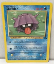 Shellder 54/62 Pokemon Card Common Original Fossil Set NM Great Condition - $2.54