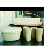 Tupperware Harvest Gold Cups 873 Steamer 888 Cake Keeper 622 - $37.95