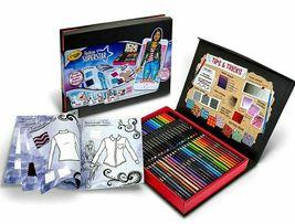 Crayola Fashion Super Star Build Your Virtual Closet Set Design Scan Style w App image 6