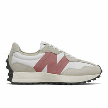 New Balance Womens White Grey Beige Pink Fashion Running Sneakers Size W... - $143.99