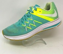 Nike Womens 8.5 M WinFlo 3 Running Shoes Blue 831562-300 2016 Low Top La... - $20.89