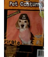 BRAND NEW IN PACKAGE Momentum Brand Pet Pirate Costume, VERY CUTE AND SI... - $4.94