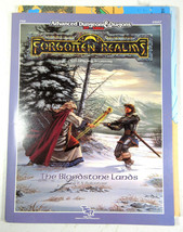 AD&D 2nd Edition Forgotten Realms FR9 Bloodstone Lands Module &Map 1989 TSR 9267 - $44.50