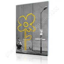 CANVAS (Rolled) Flower Banksy Wall Decor Oil Painting Printed On Canvas - $13.02+