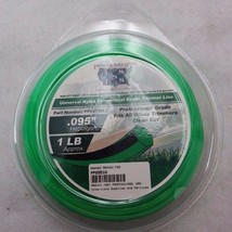 NEW PROFESSIONAL GRADE 1 lb HEPTAGON .095 ROUND TRIMMER LINE COMMERCIAL ... - $14.49