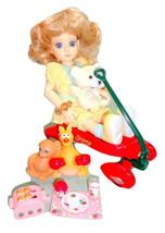 """Goodreau Aidyn Tiny Resin BJD 8"""" Doll Hallmark Light-Up Scamp Wagon +LOT... - $179.95"""