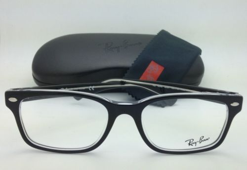 68da61aab2c New RAY-BAN Eyeglasses HIGHSTREET RB 5286 2034 51-18 Black   Clear w Demo  Lenses