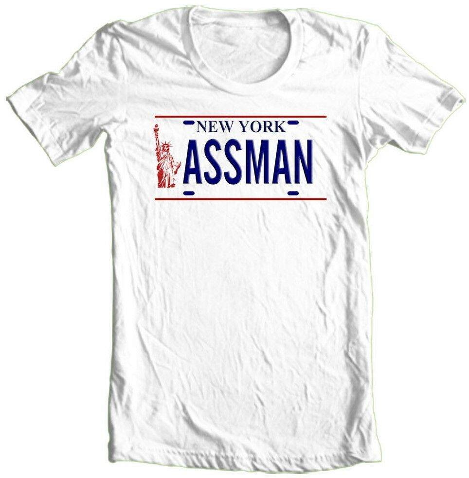 Ass Man T-shirt Free Shipping Seinfeld retro 90s cotton graphic printed tee