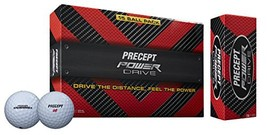Precept 2017 Powerdrive Golf Ball White 15 Ball Pack