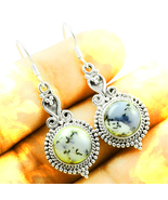 Haunted FREE EARRINGS 3X 4 CRYSTALS HEAL RESOLVE PSYCHIC MAGICK 925 MERL... - $0.00