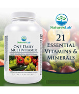 NEW Nature's Lab One Daily Multivitamin, 120 Vegetarian Capsules*FREE SH... - $28.89