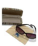 Authentic BURBERRY Women's Sunglasses Purple Gradient Tint with Hardshel... - $69.25