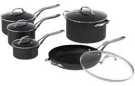 The Rock By Starfrit The Rock By Starfrit 10-Piece Cookware Set With Sta... - $230.20