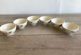 Set 6 Franciscan Desert Rose Tea Cups and Saucers Made in USA image 10