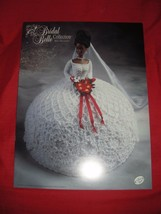 Miss December Bridal Belle Collection Barbie Crochet Pattern Annie's Attic 1998 - $5.99