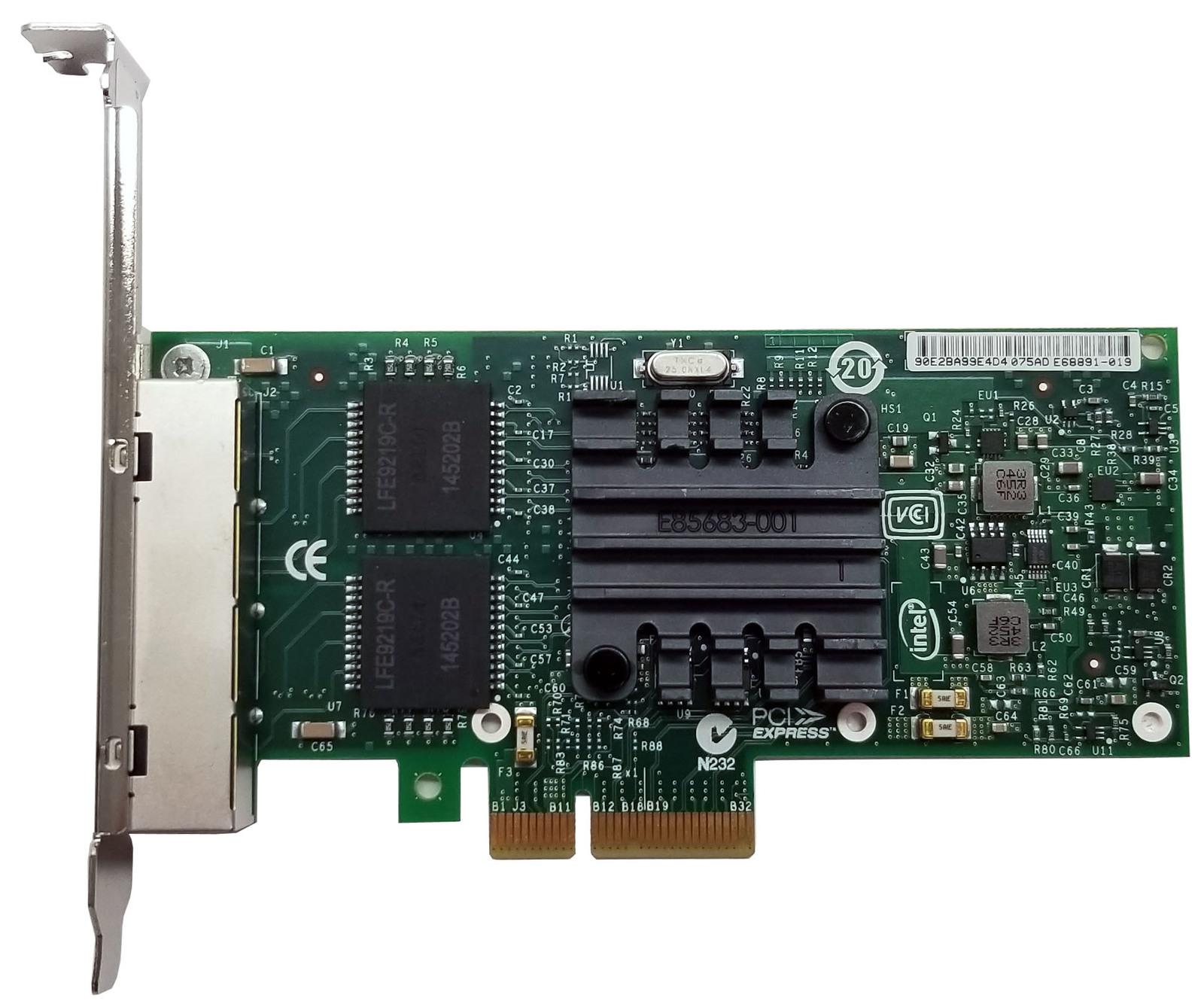 Intel Ethernet Server Adapter PCIe Quad Port I340-T4 Bin:12