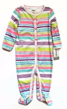 Carter's Baby Footed Sleeper Infant Sleep And Play Striped 9 months 100%... - $12.86