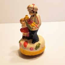 Vintage Sankyo Candy Man and Girl Music Box Japan Chadwick Miller 1973 J... - $20.00