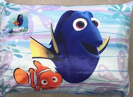 Disney Dory & Nemo Soft & Velvet touche Decorative and Bed Pillow 20 x 26 Inches - $9.49