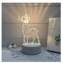 3D LED Lamp Creative Night Lights Novelty Night Lamp Table Lamp For Home 11 - $12.50
