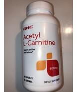 GNC Acetyl-L-Carnitine 500mg, 60 Capsules - $23.66