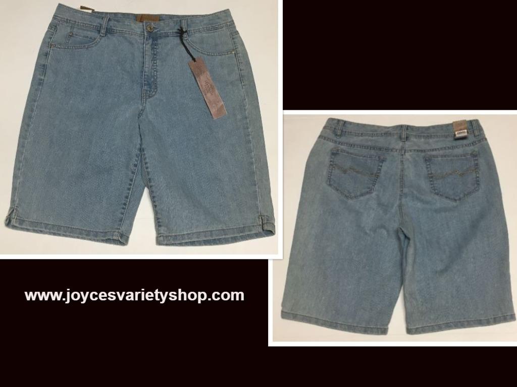 Women's Bermuda Jeans Shorts Sz 14 Hannah Denim