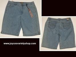 Women's Bermuda Jeans Shorts Sz 14 Hannah Denim image 1